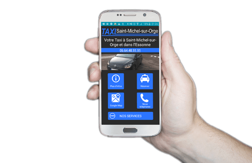 Application Android Taxi Saint Michel sur Orge