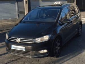 Taxi Saint Michel sur Orge essonne Monospace Touran noir 6 passagers Essonne Paris